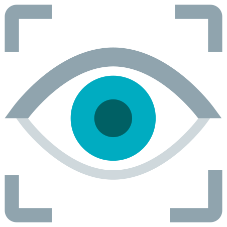 Vision icon in Color