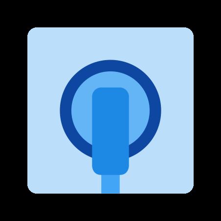 Wall Socket With Plug icon