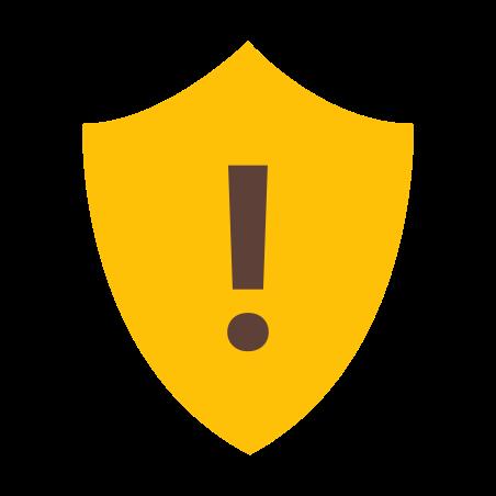 방패 경고 icon