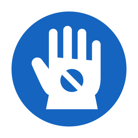 Wear Anti Static Gloves icon
