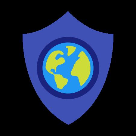 Web Shield icon in Color