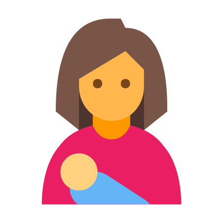 Woman With Baby icon