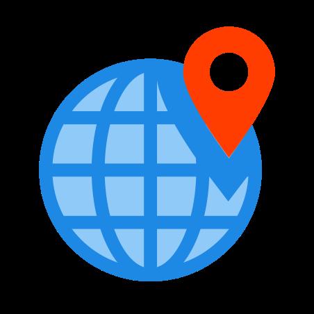 Weltweiter Standort icon