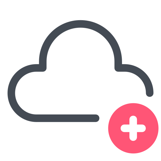Add to Сloud icon