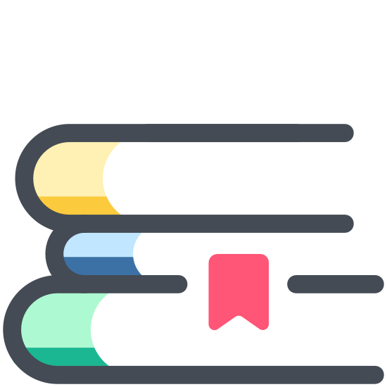 book stack icon free download png and vector