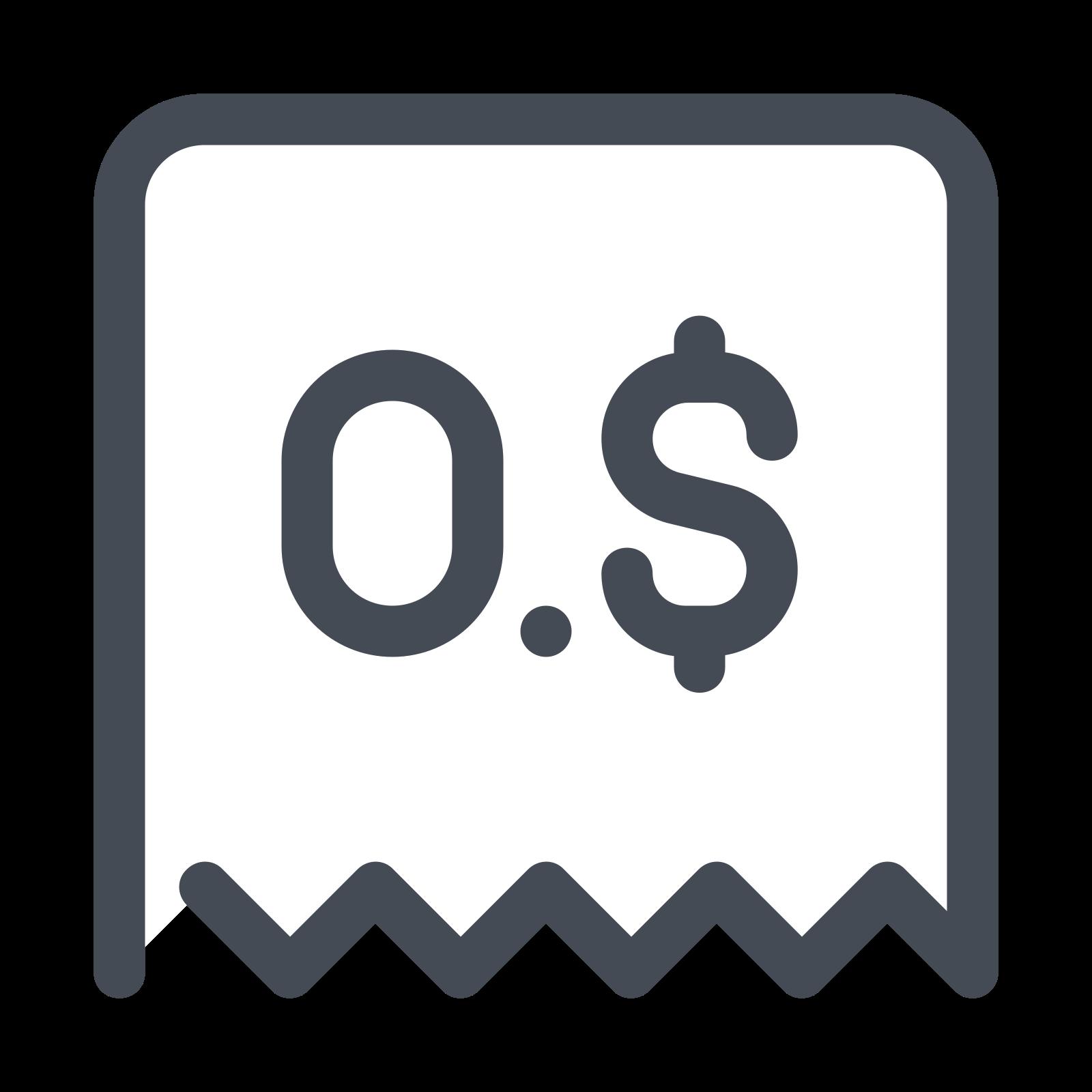 Отклоненный чек icon