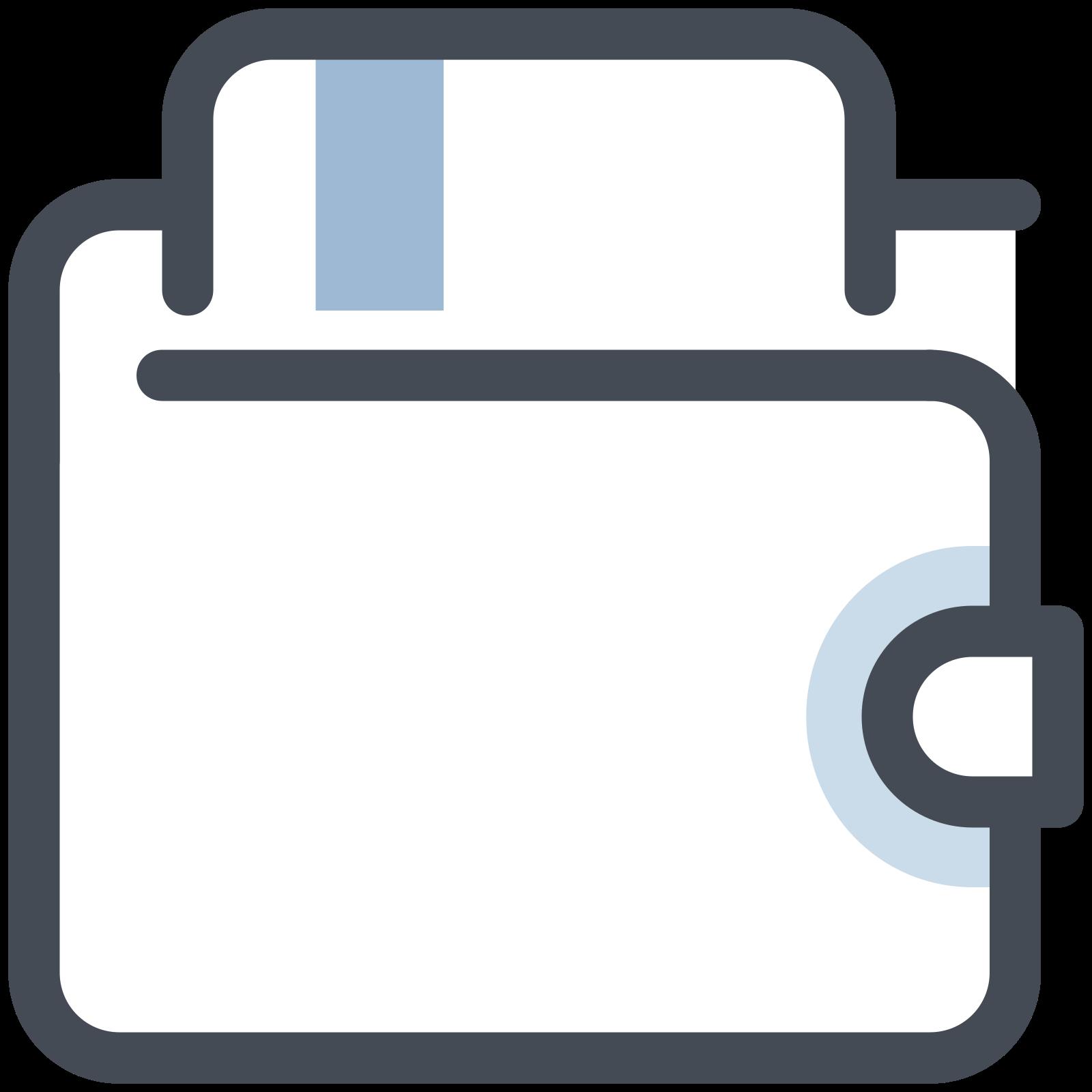 Portfel na karty icon