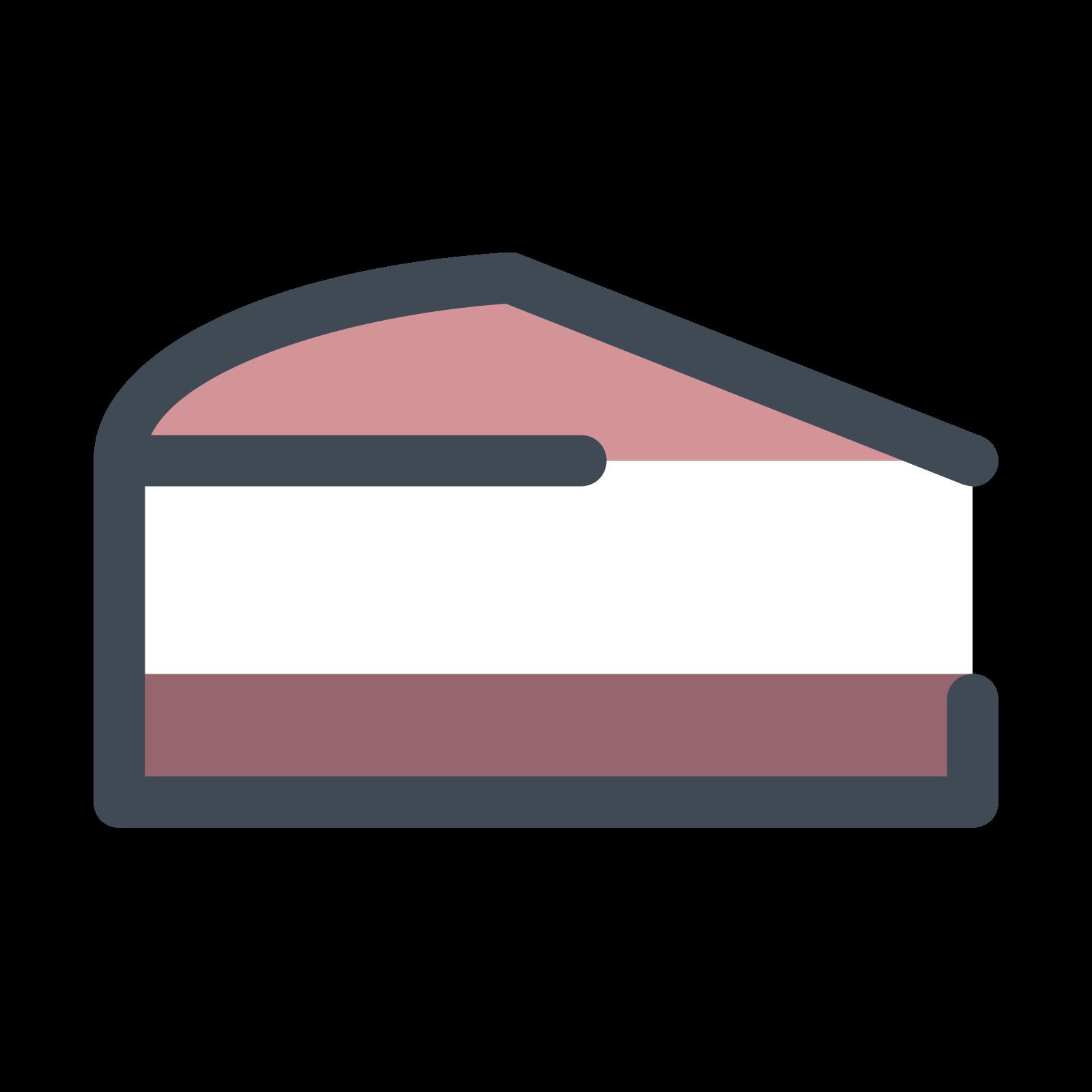 Sahne Kokos Kuchen Icon Free Download Png And Vector