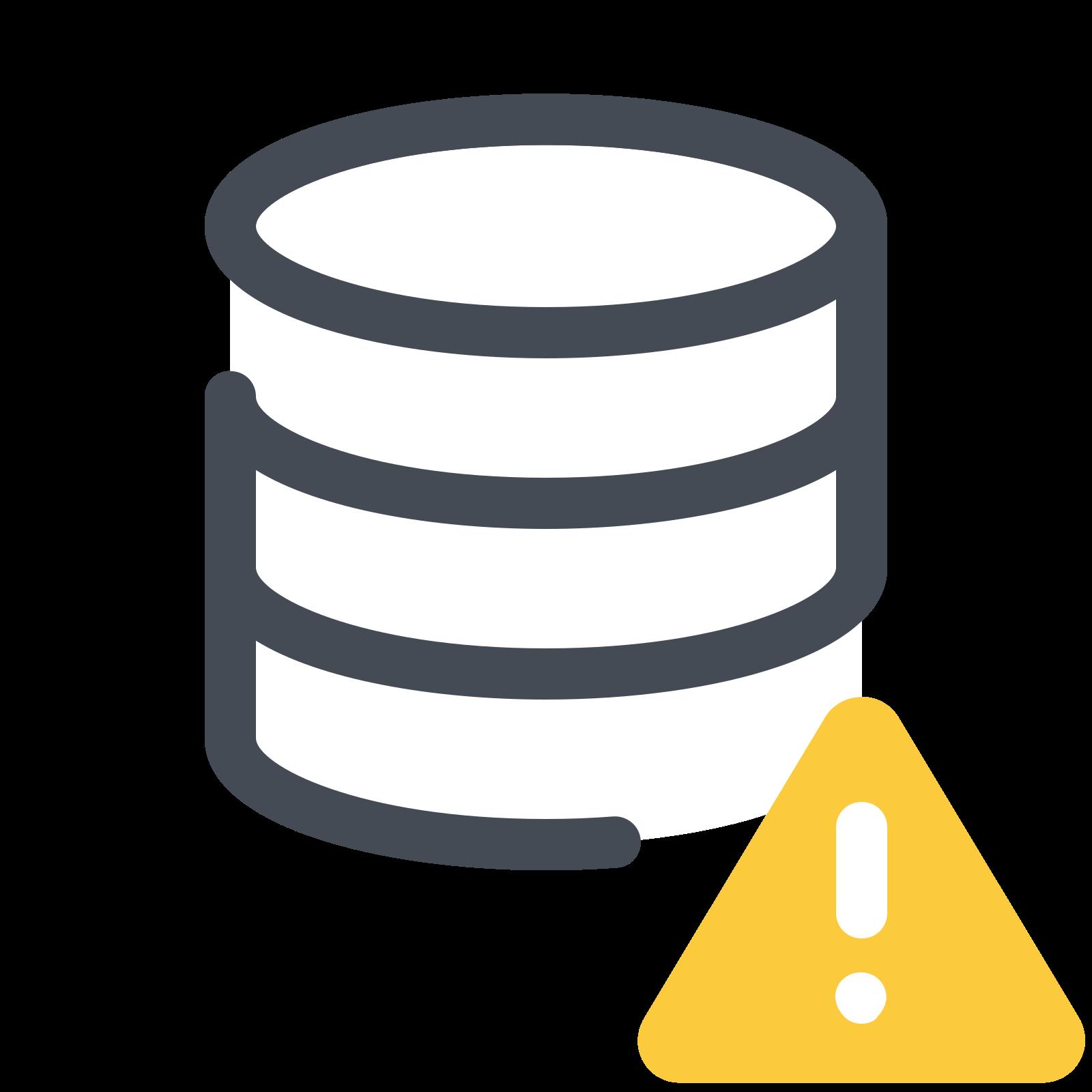 Database Error icon