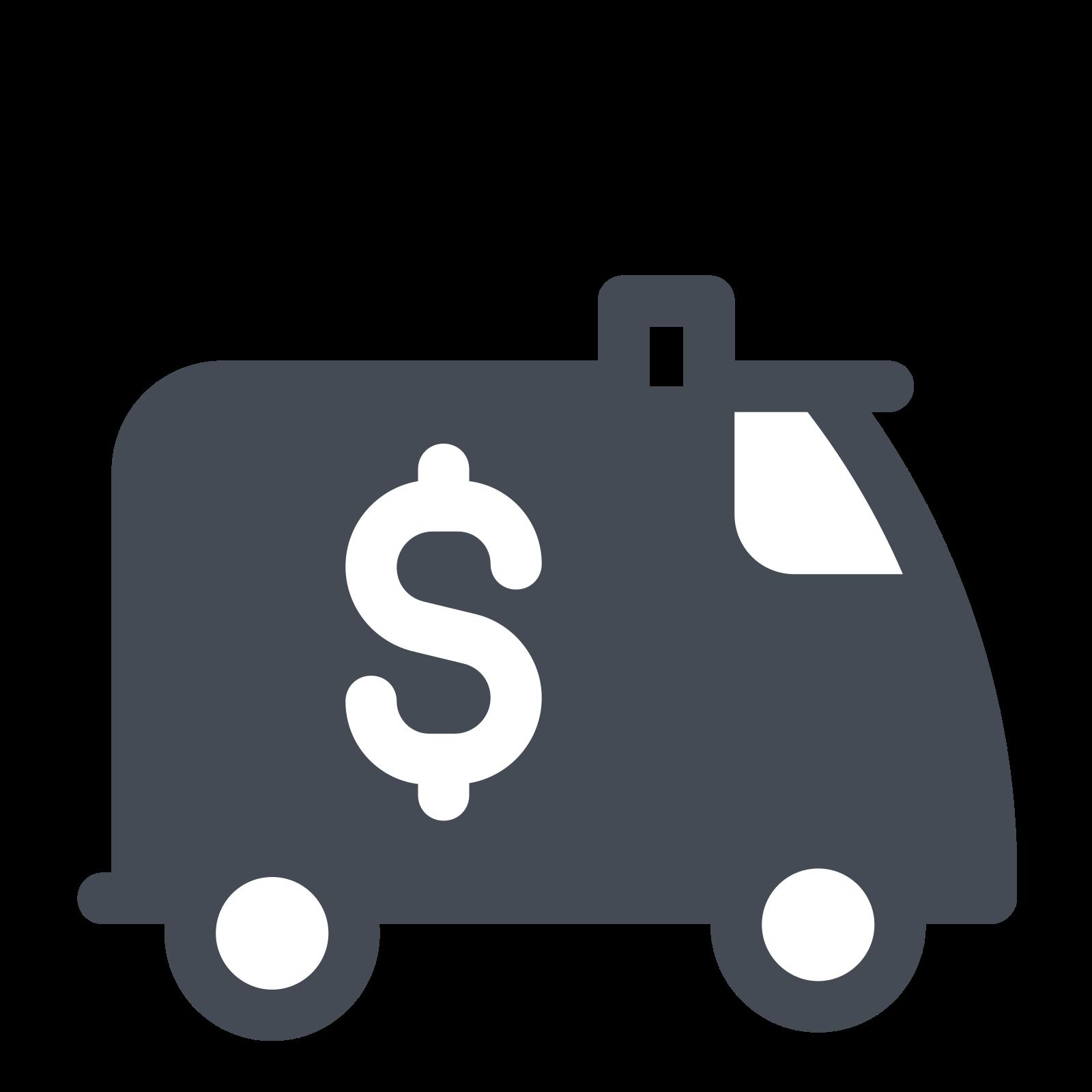 Encashment Car icon