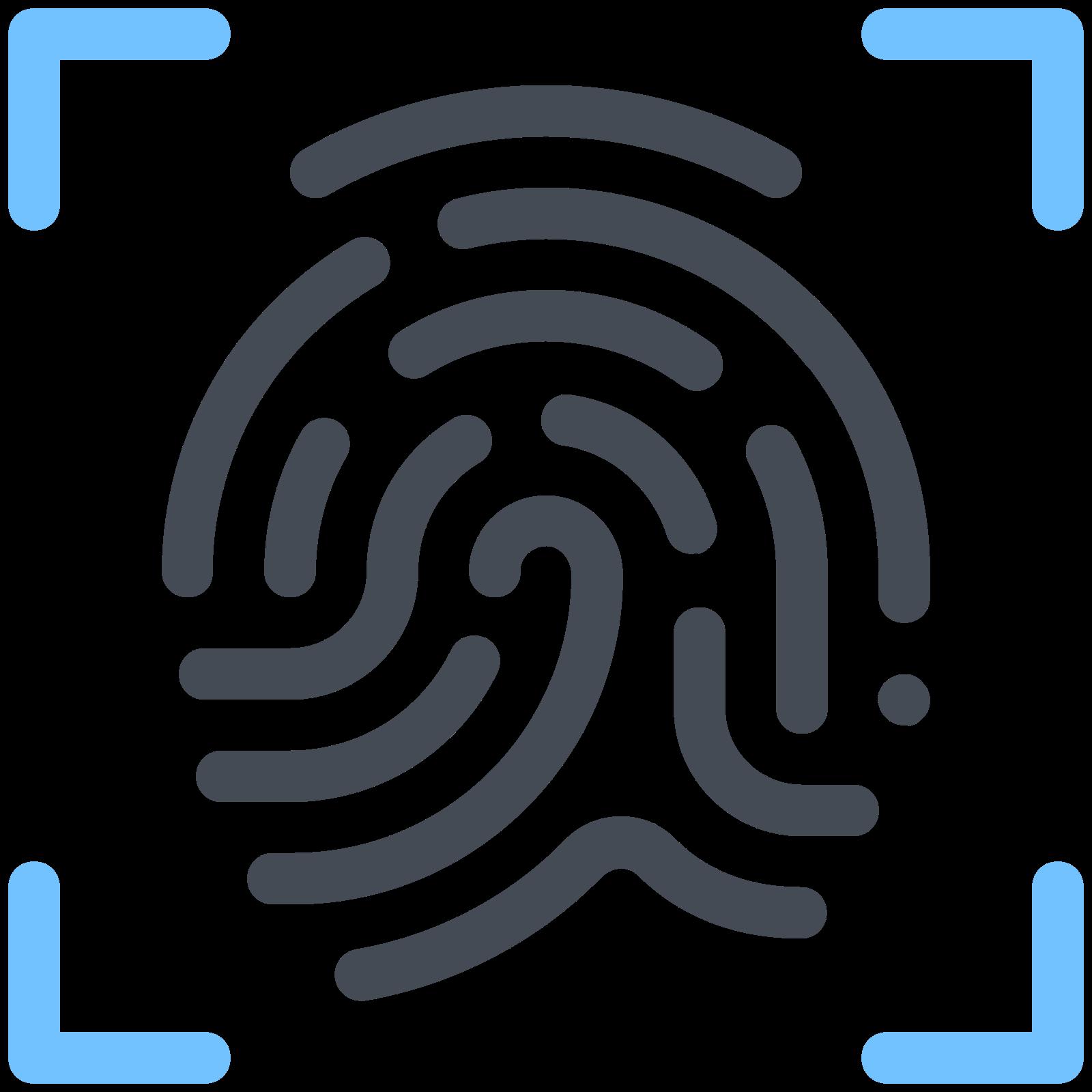 Распознавание отпечатков пальцев icon