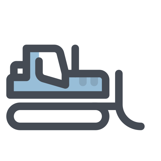 Forklift Tractor icon