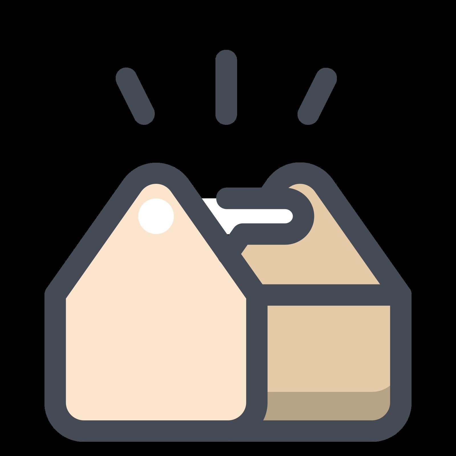 Pełny schowek na narzędzia icon