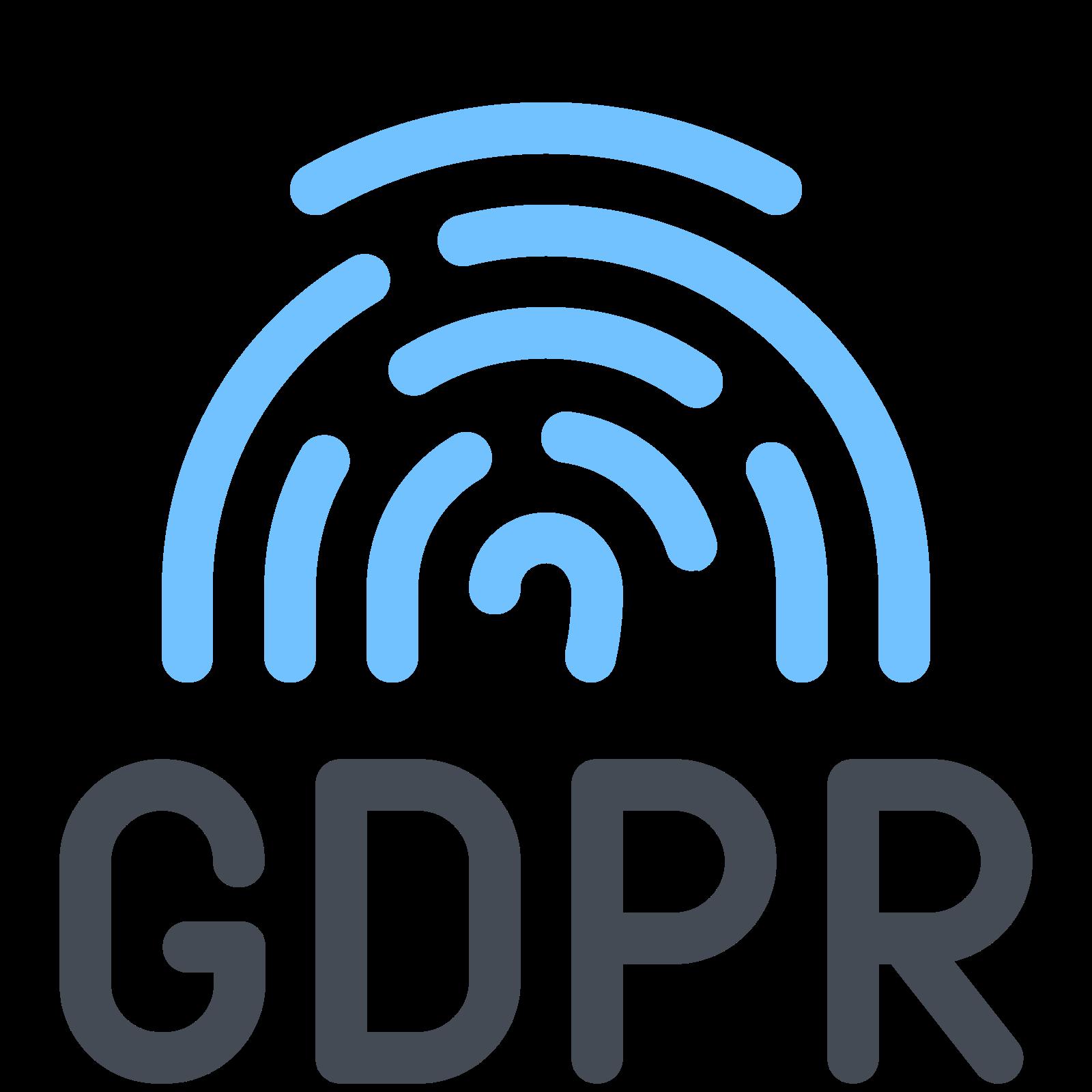 GDPR Fingerprint icon