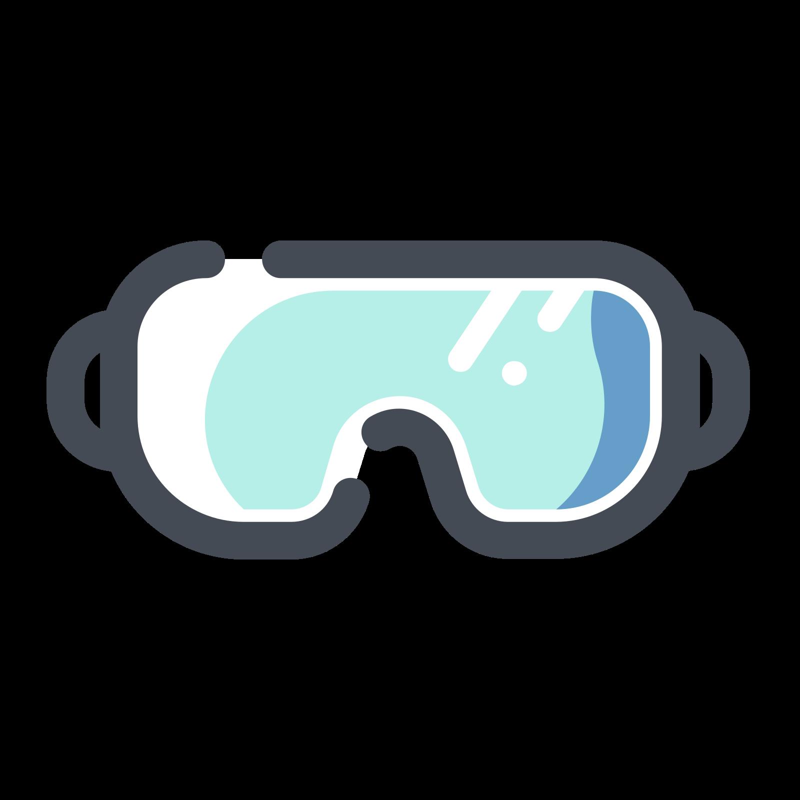 眼鏡 icon. Its an image of a pair of glasses. There are two semi circles spaced equally apart connected by a horizontal line. On far end of each semi circle is a vertical line with hooks on the end. It looks like a women's bra.