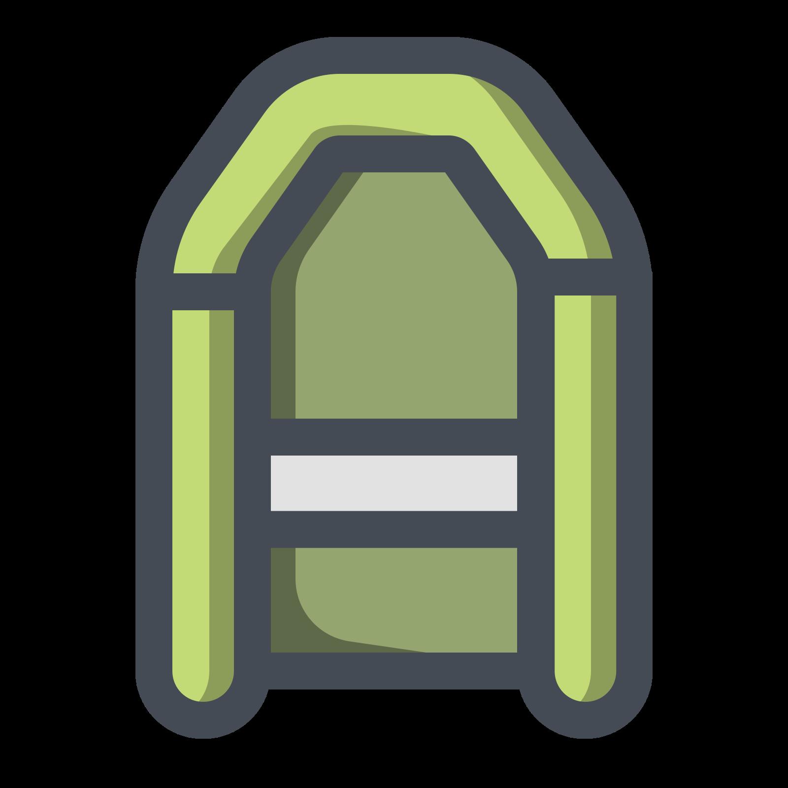 Green Rubber Boat icon