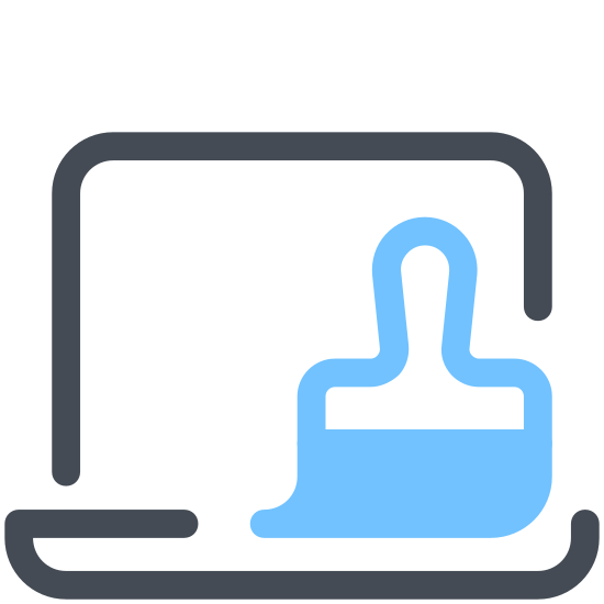 Laptop Cleaning icon