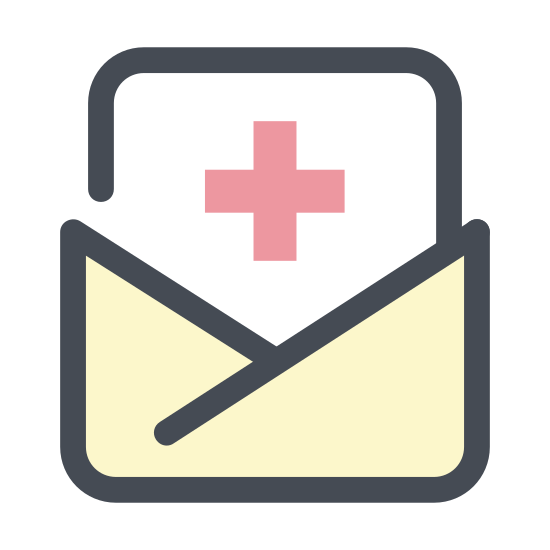 Letter from Clinic icon
