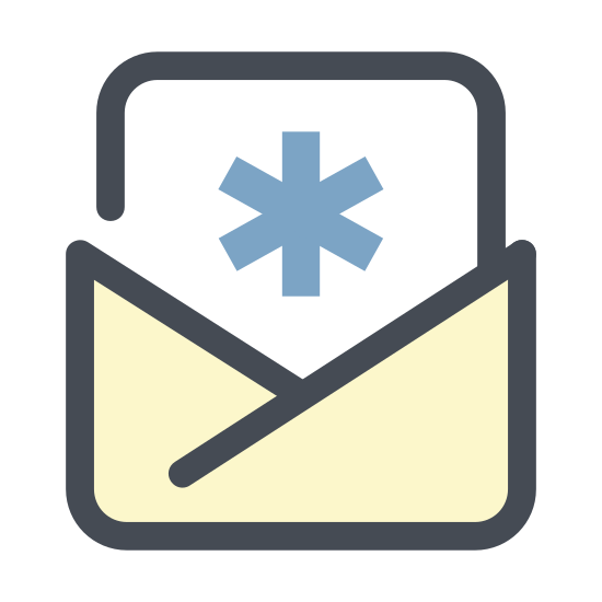 Letter from Hospital icon