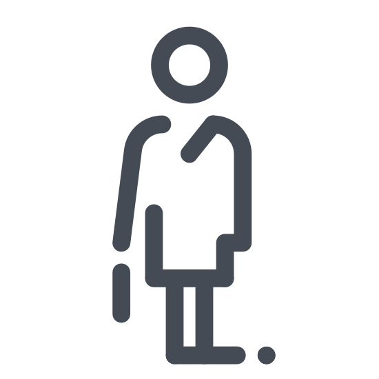 Office Worker in a Suit Female icon
