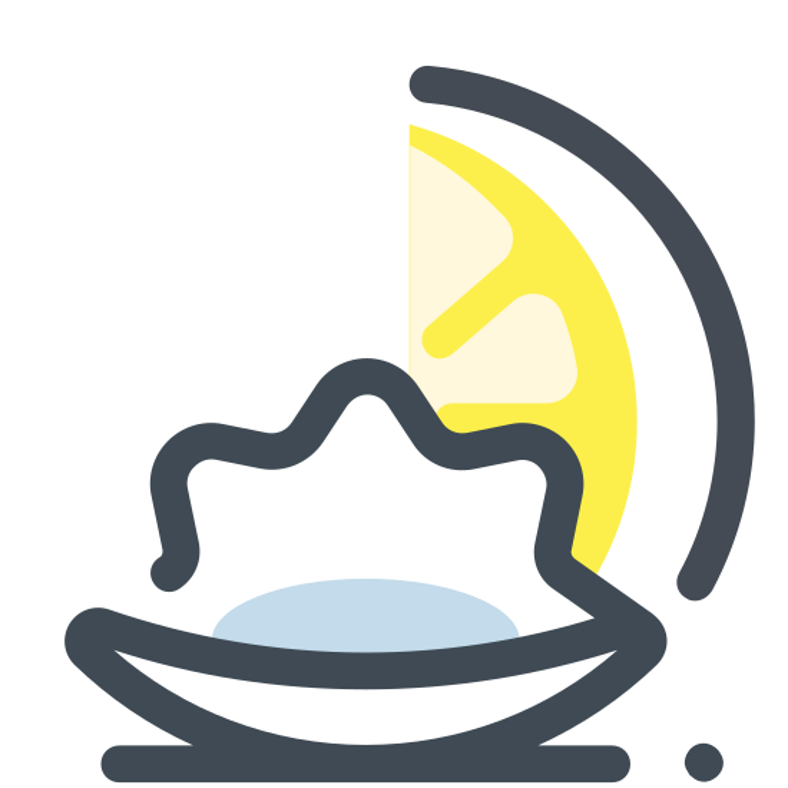 Ostrygi z cytryną icon