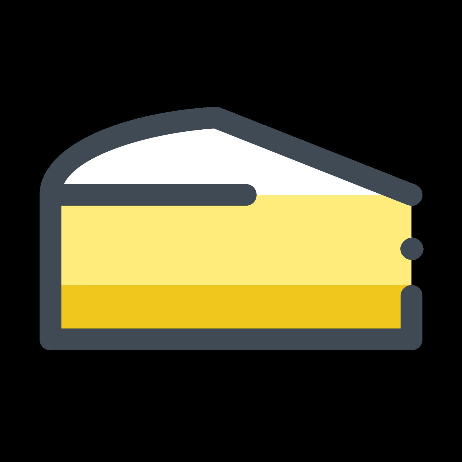 Kawałek ciasta cytrynowego icon