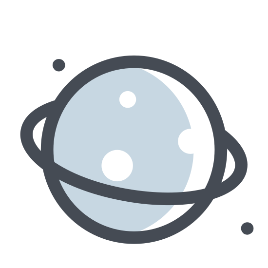Planet on the Dark Side icon