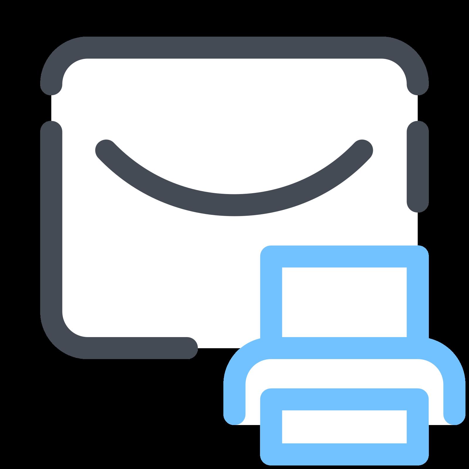 Print Message icon