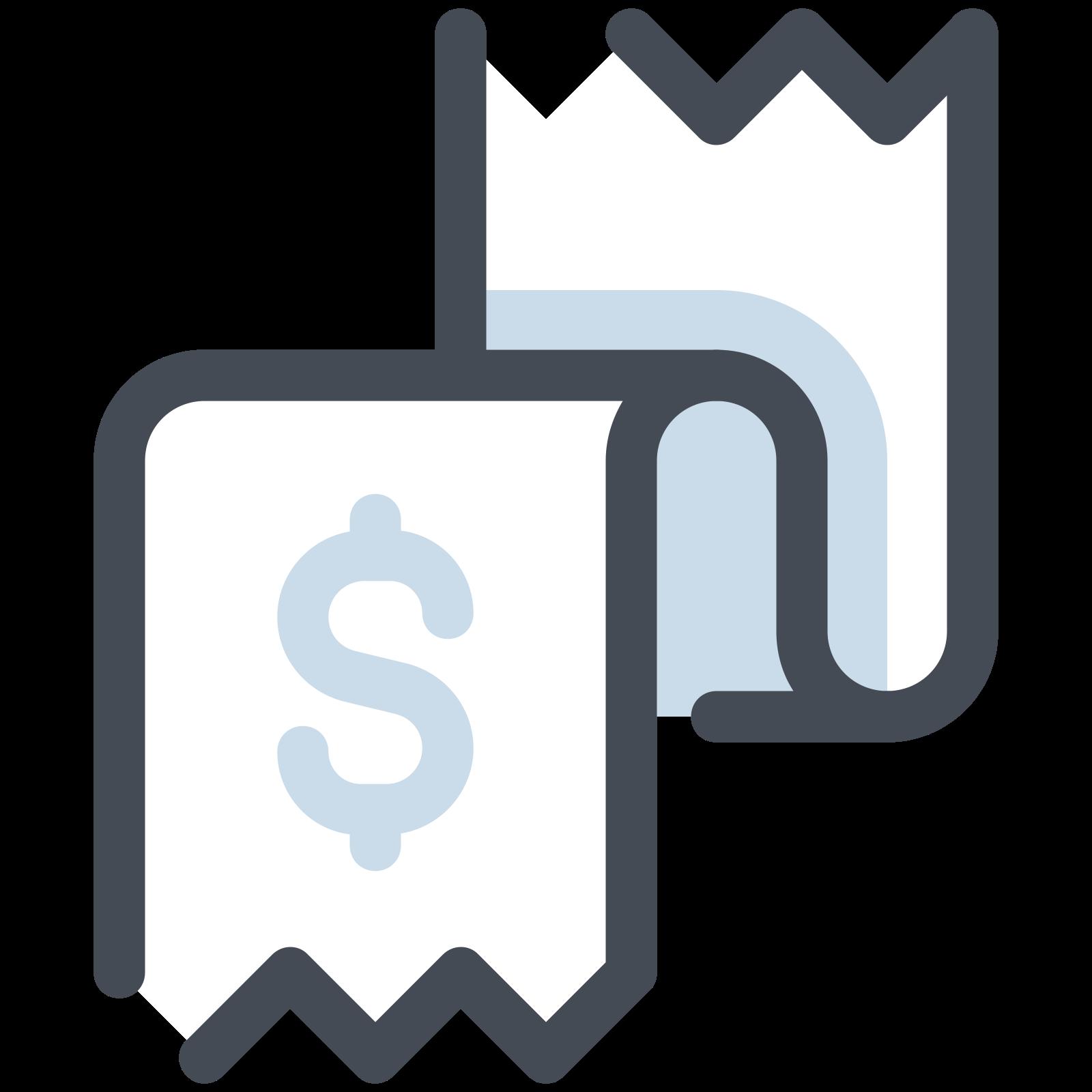 Receipt Dollar icon