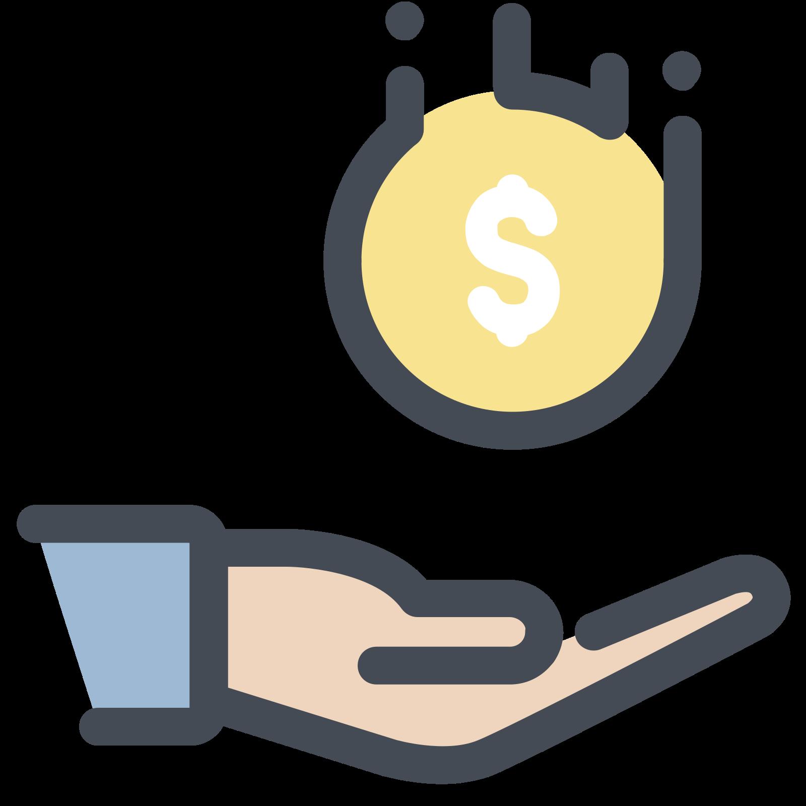 Receive Dollar icon
