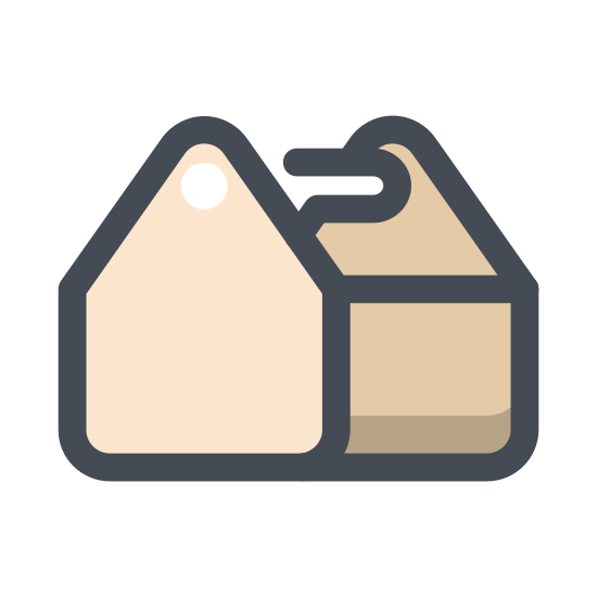 Zestaw narzędzi icon. It's an image of a toolbox.  Is a rectangle with a horizontal line through the center about one third of the way form the top.  There are two small rectangles on the horizontal line representing locks. Centered on top of the box is a small rectangle representing a handle.