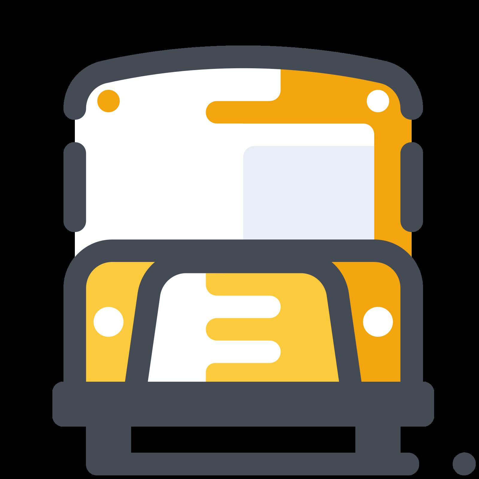 Traditional School Bus icon