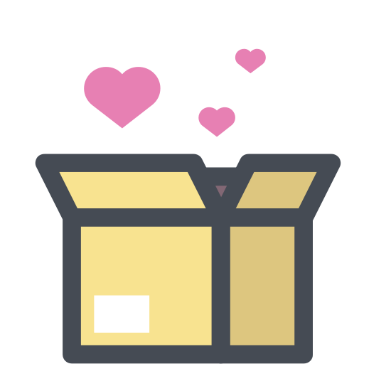 Wedding Gift icon. A wedding gift icon is an icon of a present. The present would probably be a square shape objection with a lid and bow on top. The symbol that distinguishes a wedding present with any other kind of present is the heart in the center of the box.
