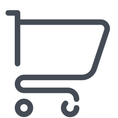cotton shopping-cart icon