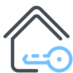 House Icons In Pastel Style For Graphic Design And User Interfaces
