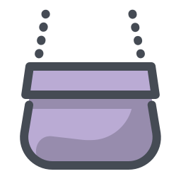 bag back-view icon