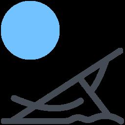beach chair--v3 icon