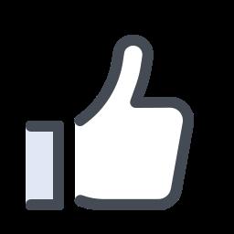 facebook like--v1 icon