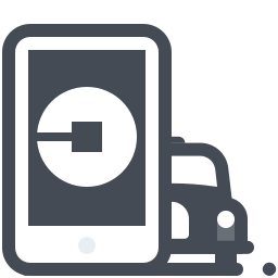 uber taxi icon