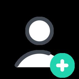 add user-male icon