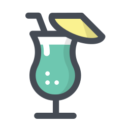 alcoholic cocktail icon