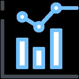combo chart--v2 icon