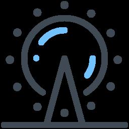 ferris wheel--v2 icon