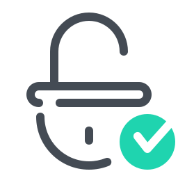 Approved Unlock icon