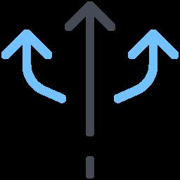 Arrows Fork icon