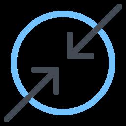 Arrows To Center icon
