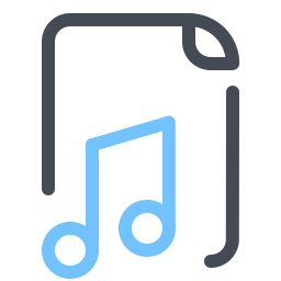 Archivo de audio icon