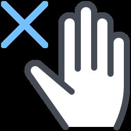 Avoid Touching icon