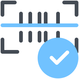 Barcode Approve icon