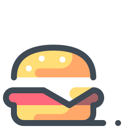 Hamburger di manzo icon